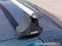 Багажник на крышу на ВАЗ 2110, 2112 (Атлант, Россия), аэродинамические дуги