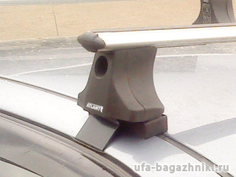 Багажник на крышу Chevrolet Lanos, Атлант, аэродинамические дуги