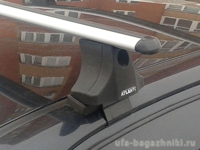 Багажник на крышу Hyundai Accent, Атлант, аэродинамические дуги
