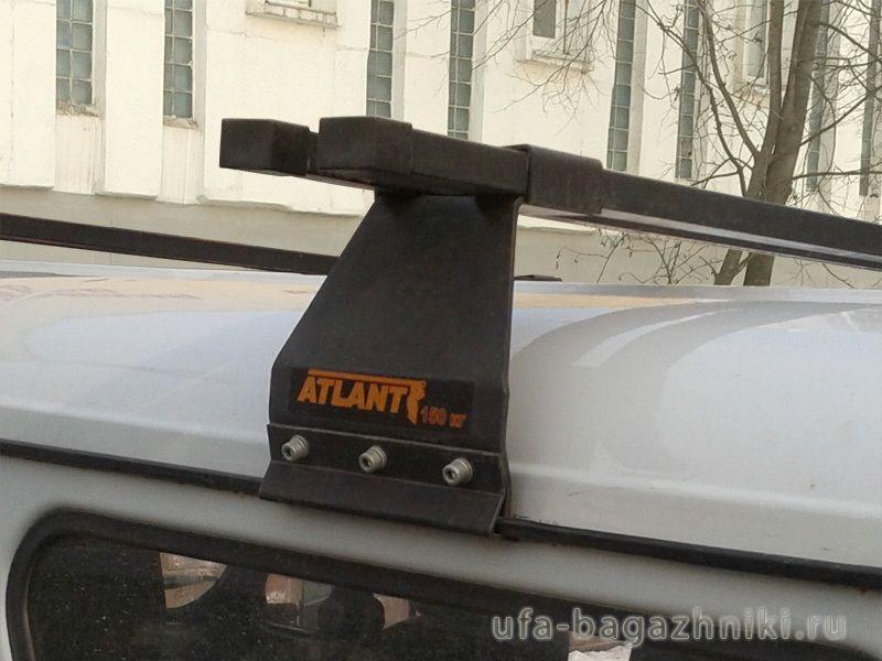 Багажник на крышу УАЗ Буханка, Атлант, стальные дуги