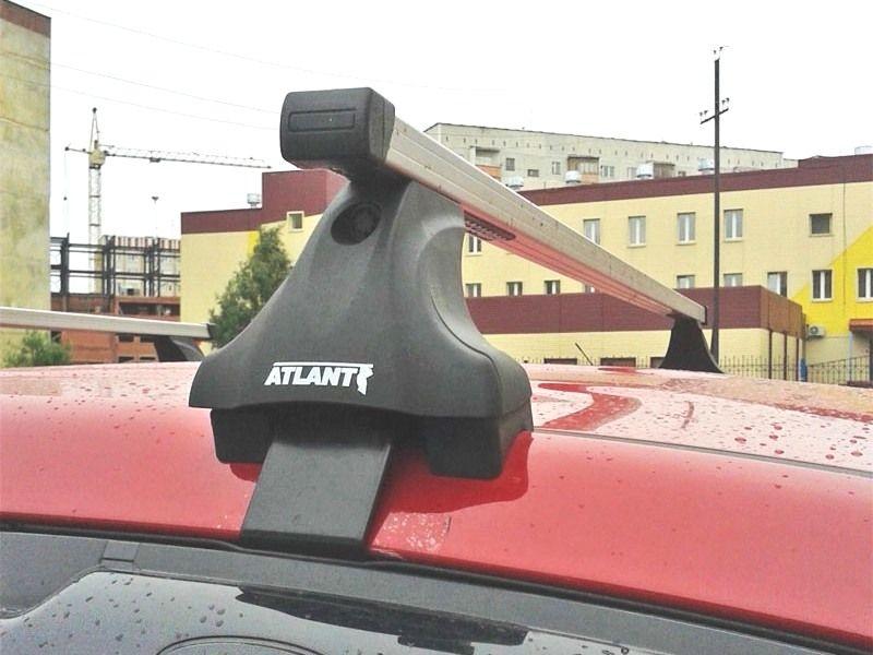 Багажник на крышу Renault Scenic 3, Атлант, прямоугольные дуги