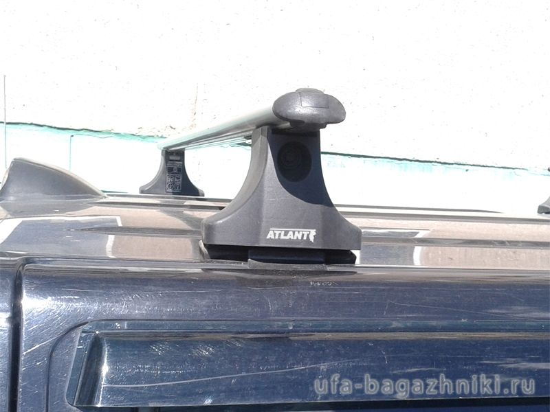Багажник на крышу Mazda BT-50, Атлант, аэродинамические дуги