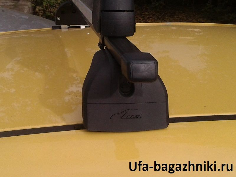 Багажник на крышу Opel Astra J, Lux, прямоугольные стальные дуги