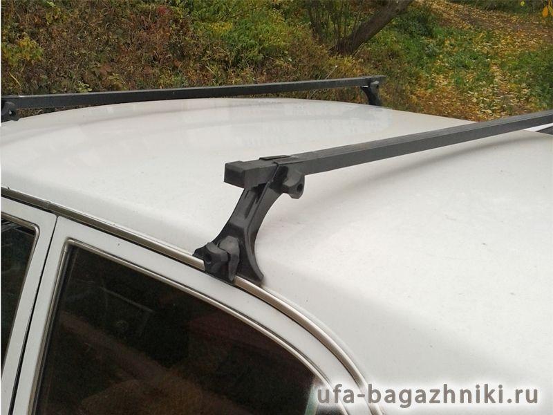 """Багажник на крышу на ГАЗ-3110 """"Волга"""" (Евродеталь, Россия) - стальные дуги"""