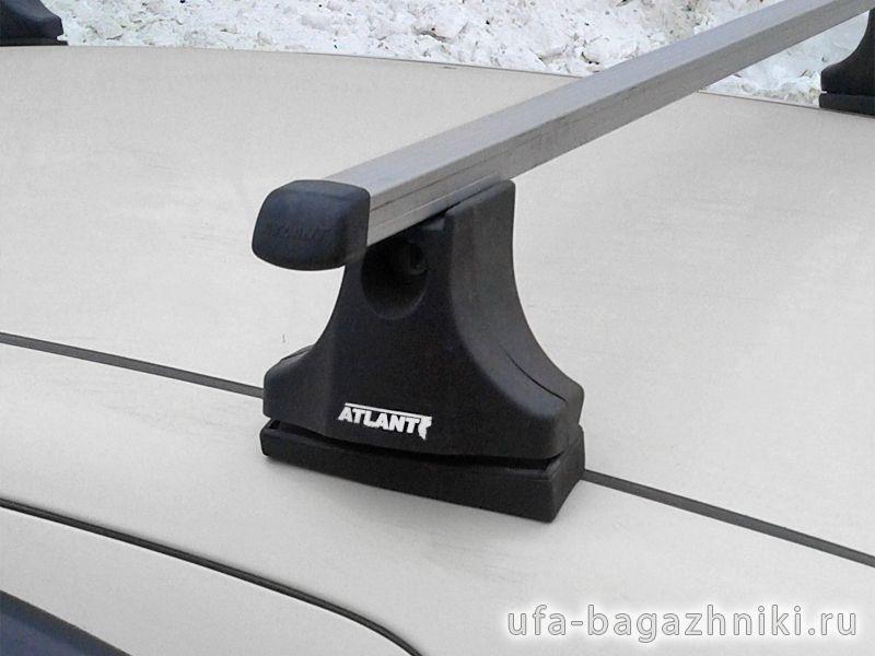 Багажник на крышу Fiat Panda, Атлант, прямоугольные дуги
