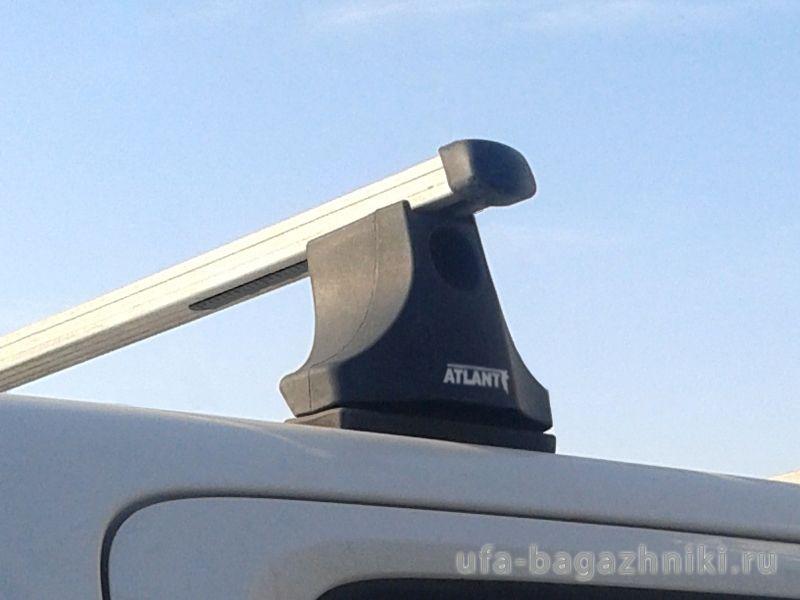 Багажник на крышу Volkswagen Amarok, Атлант, прямоугольные дуги