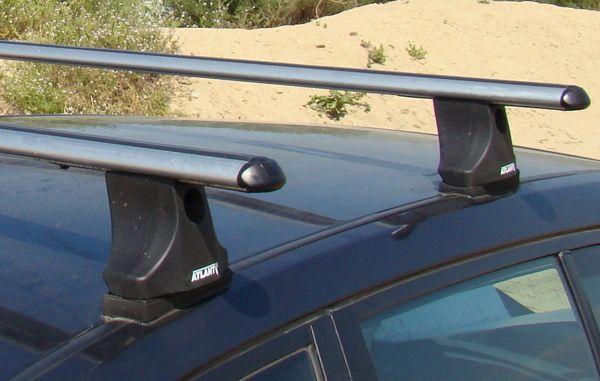 Багажник на крышу Fiat Panda, Атлант, аэродинамические дуги