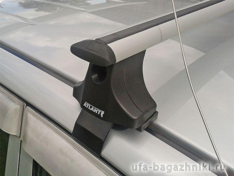 Багажник на крышу Kia Cerato TD 2009-2013, Атлант, крыловидные дуги