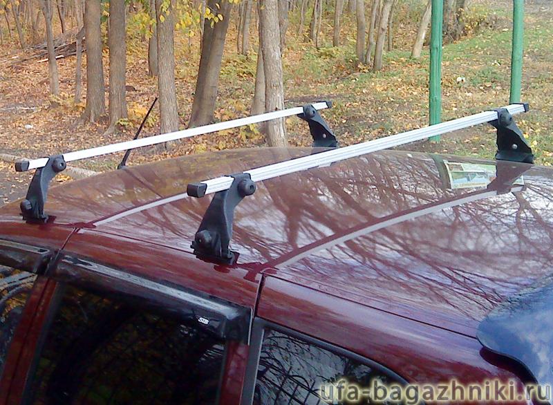 Багажник на крышу на Chevrolet NIVA, Атлант - алюминиевые дуги