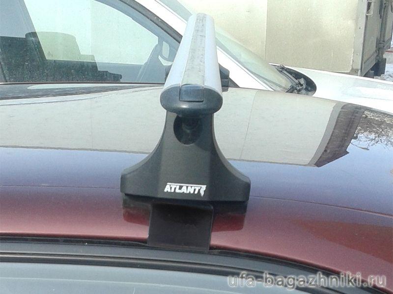 Багажник на крышу Kia Spectra, Атлант, аэродинамические дуги