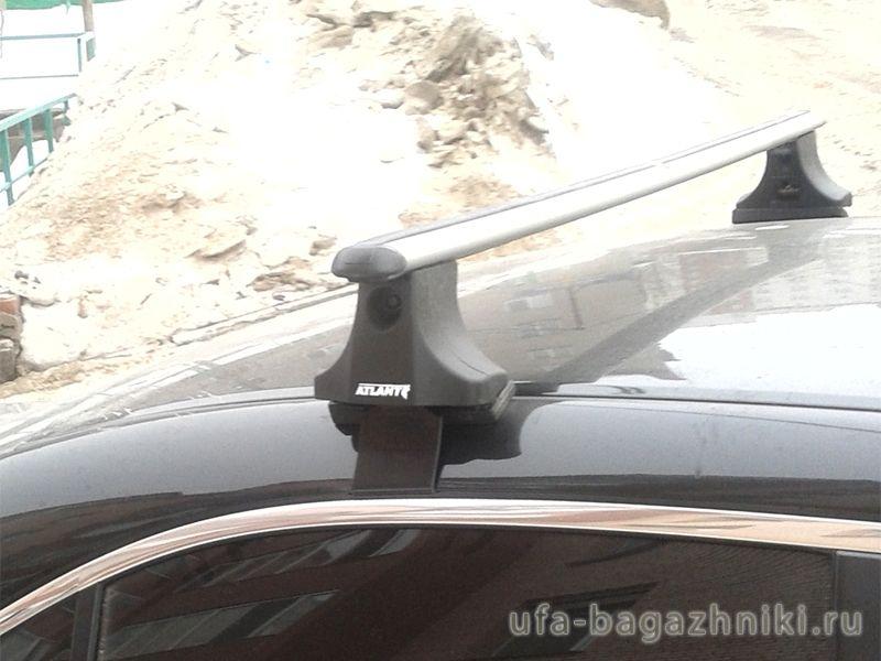 Багажник на крышу Volkswagen Passat B6, Атлант, аэродинамические дуги