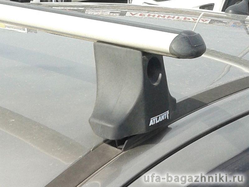 Багажник на крышу Citroen С4 2004-11, Атлант, аэродинамические дуги