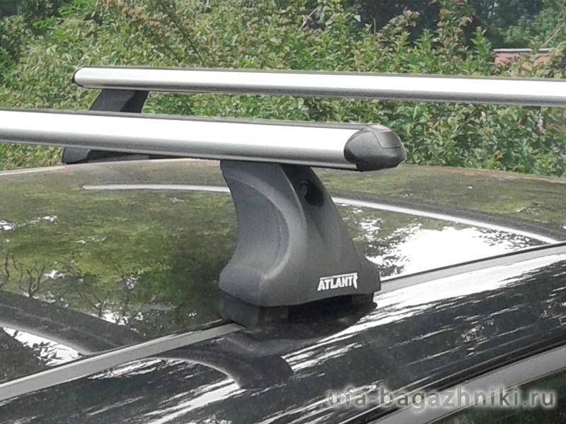 Багажник на крышу Kia Ceed, Атлант, аэродинамические дуги, опора Е