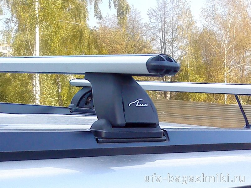 Багажник на крышу Nissan X-Trail (T30,31), Lux, аэродинамические  дуги (73 мм)