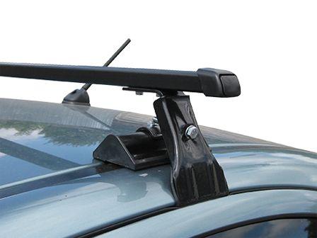 Универсальный багажник на крышу Муравей Д-1,  стальные прямоугольные дуги