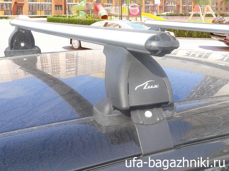 Багажник на крышу Lada Xray, Lux, аэродинамические дуги (53 мм)