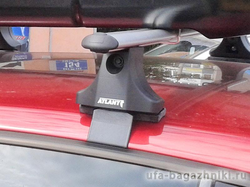 Багажник на крышу Volkswagen Polo 2002-2009, Атлант, аэродинамические дуги